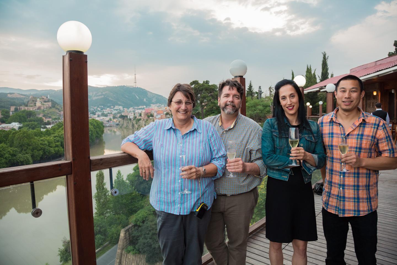Tbilisi evening - RSylvester, PLuxe, NAron, VLok