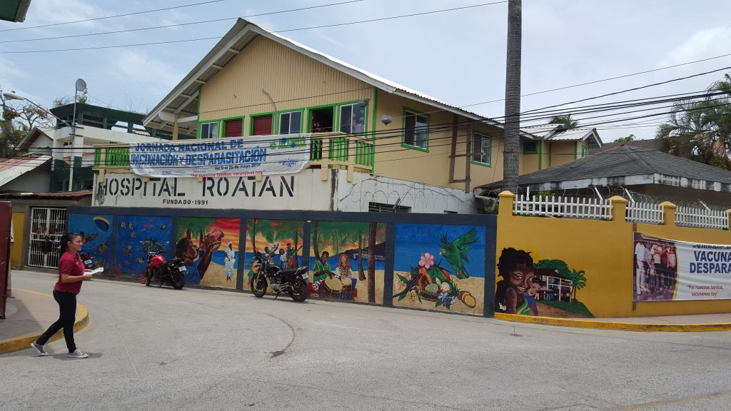 Public Hospital Roatán, Honduras